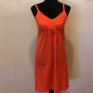 Tommy Bahama Dress Coral Tie Front